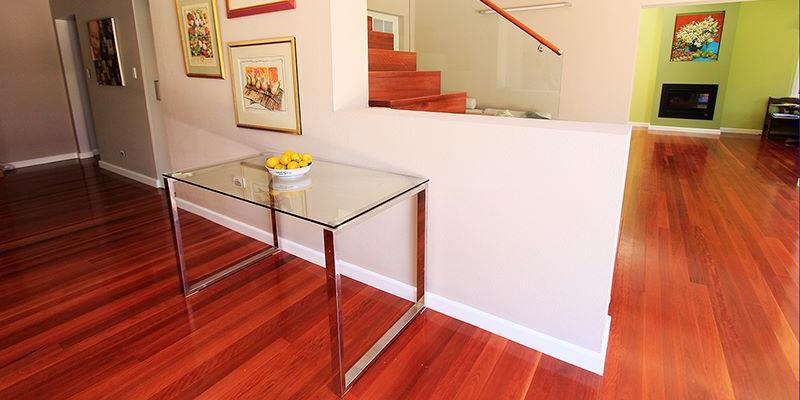 red oak engineered wood flooring in altrincham