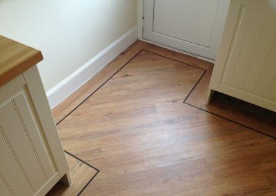 Karndean with border fitted altrincham