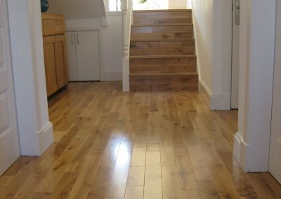 hardwood floor fitted in property in sale