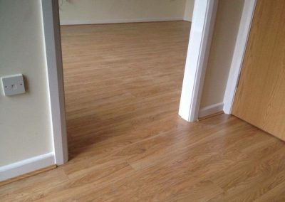 laminte flooring fitted at property in stretford