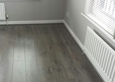 wooden floor fitted at property in hale